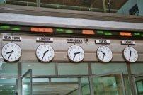 giełda, zegary